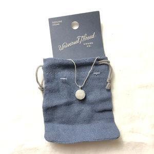 Universal Thread Druzzy Necklace Semi Precious